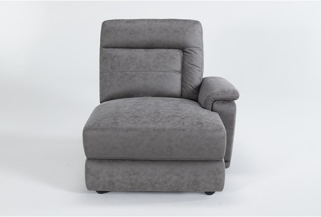 Huntley Stone Right Arm Facing Chaise - 360