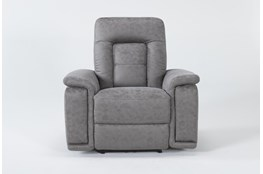 Huntley Stone Power Recliner With Usb