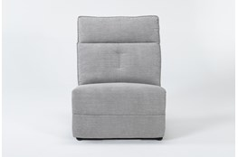 Pippa Grey Armless Chair