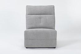 Pippa Grey Armless Chair