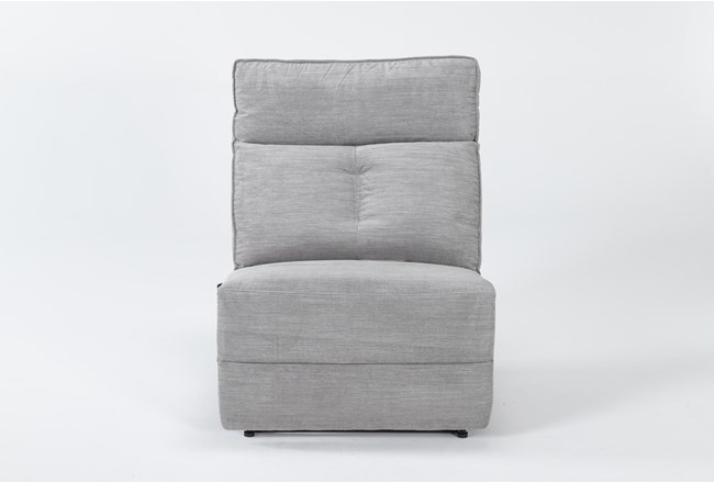 Pippa Grey Armless Recliner - 360