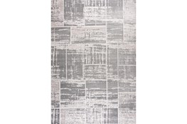 "7'8""x10'5"" Rug-Distressed Patchwork Grey"