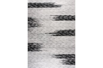 63X90 Rug-Color Block Grey/Black
