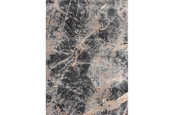 63X90 Rug-Crackle Dark Grey