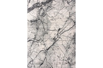 94X126 Rug-Crackle Light Grey