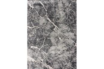 94X126 Rug-Crackle Charcoal