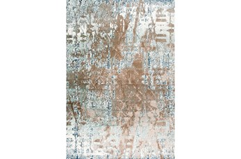 94X126 Rug-Galaxy Beige/Blue