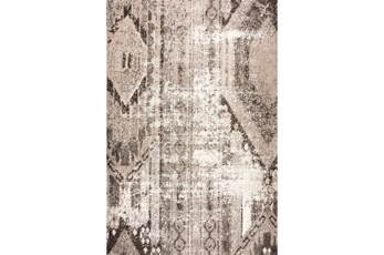 94X126 Rug-Aztec Brown/Beige