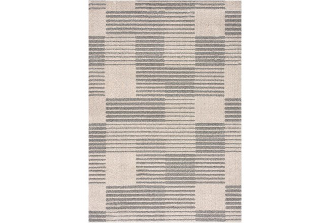 63X90 Rug-Square Lines Grey - 360