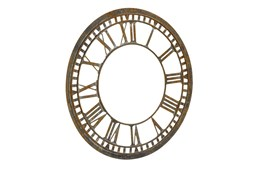 Magnolia Home Metal Clock Antique Finish