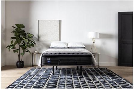 Beech Street Cushion Firm Euro Pillow Top Eastern King Mattress