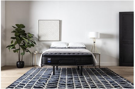 Beech Street Cushion Firm Euro Pillow Top California King Mattress