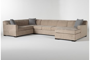 Nathan Foam 3 Piece Sectional With Right Arm Facing Chaise