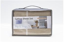Sheet Set-Revive Premier 500Tc Cotton Beige Queen