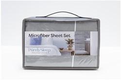 Sheet Set-Revive Essentials Microfiber Grey Queen