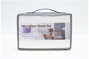 Sheet Set-Revive Essentials Microfiber White Full
