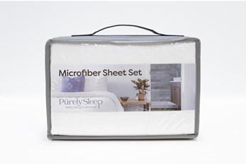 Sheet Set-Revive Essentials Microfiber White Queen
