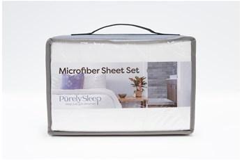 Sheet Set-Revive Essentials Microfiber White California King