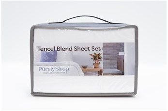 Sheet Set-Revive Tencel Blend White Full
