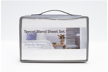 Sheet Set-Revive Tencel Blend White Queen