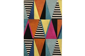 Picture-Triangle Patchwork Hide Multi 20X30