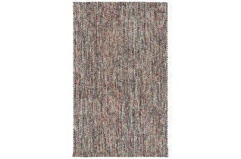 108X156 Rug-Tula Hand Loomed Brown/Terracotta