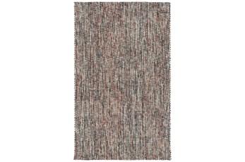 108X156 Rug-Tula Hand Loomed Brown/Terracotta