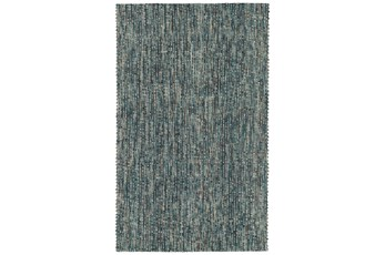 108X156 Rug-Tula Hand Loomed Turquoise