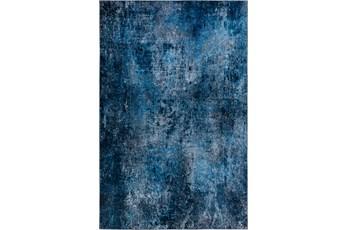 39X63 Rug-Borealis Lustre Deep Blue