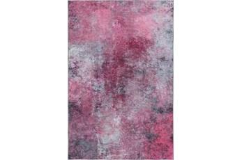 """1'7""""x2'5"""" Rug-Borealis Lustre Pink Rose"""
