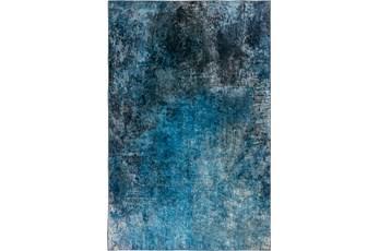 96X120 Rug-Borealis Lustre Lake Blue