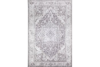 """5'x7'5"""" Rug-Traditional Lustre Sheen Taupe"""