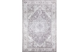 96X120 Rug-Traditional Lustre Sheen Taupe