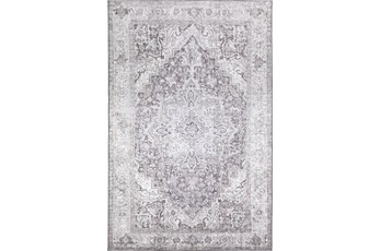 8'x10' Rug-Traditional Lustre Sheen Taupe