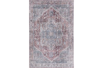 60X90 Rug-Traditional Lustre Sheen Blush