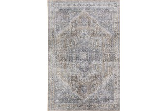 96X120 Rug-Traditional Lustre Sheen Goldenrod
