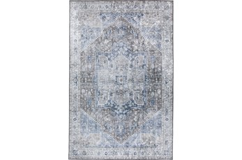 96X120 Rug-Traditional Lustre Sheen Mocha