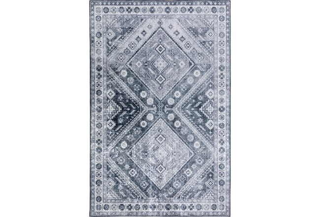 20X30 Rug-Diamond Traditional Lustre Sheen Pewter - 360