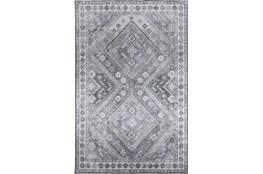 96X120 Rug-Diamond Traditional Lustre Sheen Taupe