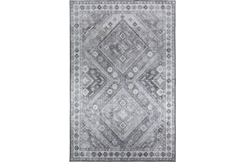96X120 Rug-Diamond Traditional Lustre Sheen Taupe