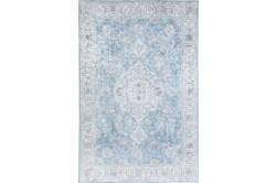 96X120 Rug-Traditional Lustre Sheen Light Blue