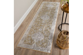 """2'3""""x7'5"""" Rug-Traditional Lustre Sheen Nugget"""