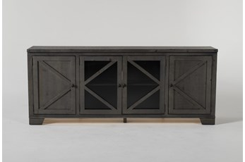 Sinclair II Grey 78 Inch TV Stand