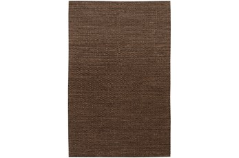 60X90 Rug-Diamond Metallic Flat Weave Chocolate
