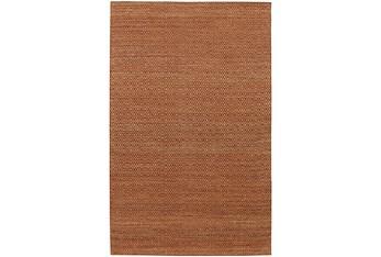 8'x10' Rug-Diamond Metallic Flat Weave Copper