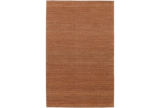 9'x13' Rug-Diamond Metallic Flat Weave Copper - 360