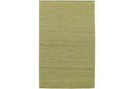 42X66  Rug-Diamond Metallic Flat Weave Lime
