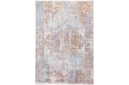 36X60 Rug-Faded Medallion Sunset