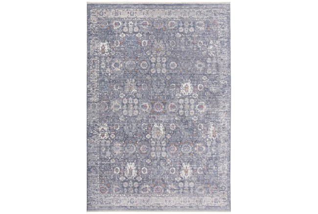 3'x5' Rug-Faded Traditional Moonlight - 360