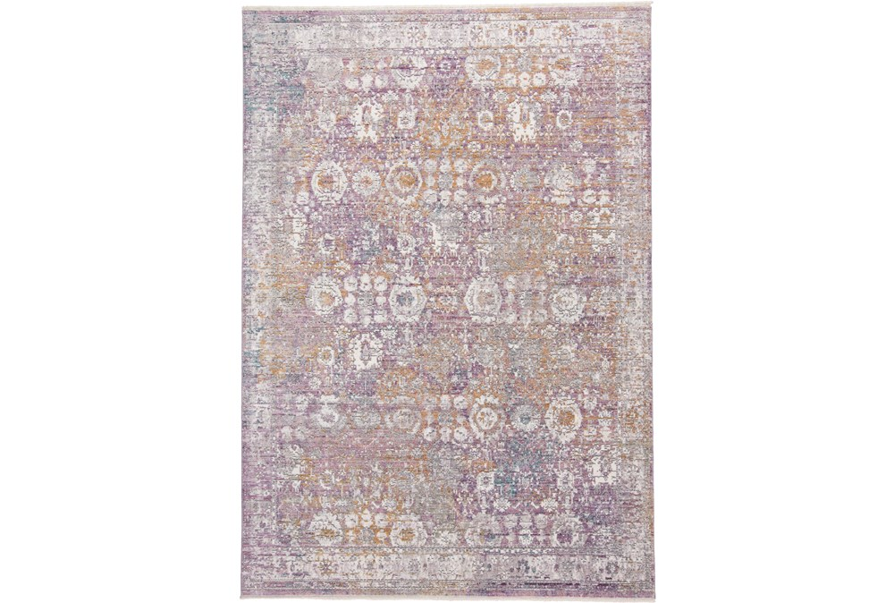 36X60 Rug-Faded Traditional Sorbet